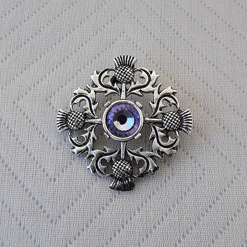 Celtic Scotish Thistle Brooch