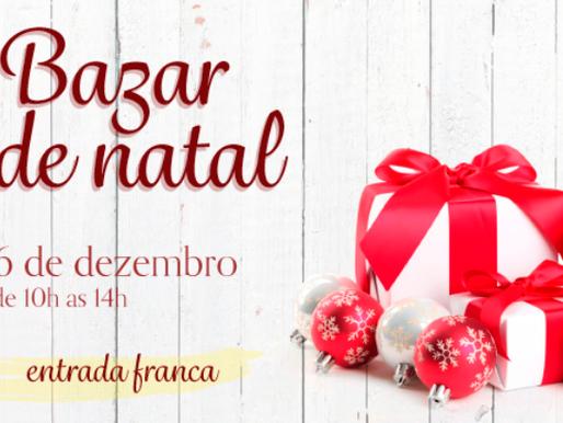 Lar de Frei Luiz realiza seu bazar de Natal