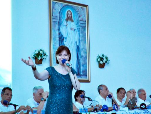 Margarete Áquila lança novo seu novo cd Ecos da Paz