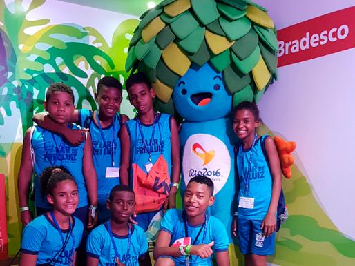 Crianças do Lar de Frei Luiz na Paralimpíada