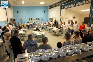 Macarronada Solidária movimenta Lar de Frei Luiz