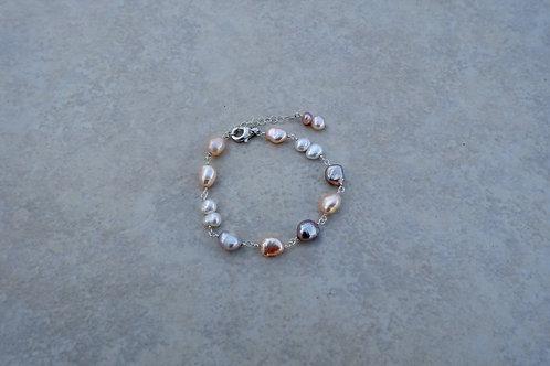 Pink Pearls Bracelet