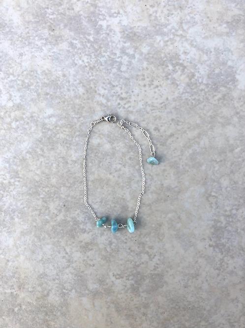 Larimar Tiny Bracelet