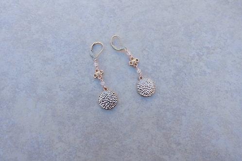 Julia's Rose Gold Earrings