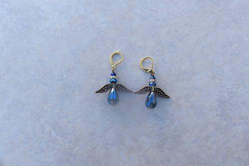 Montana Blue and Bronze Earrings