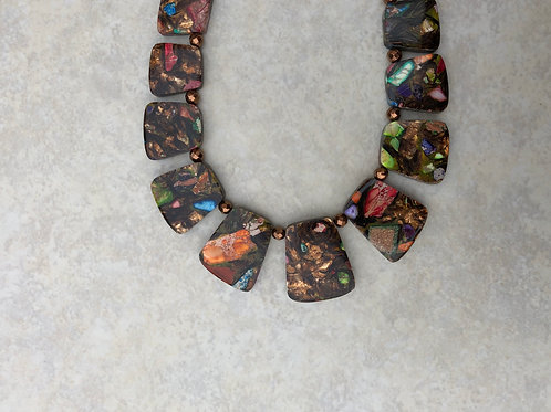 Browns Paddle Necklace