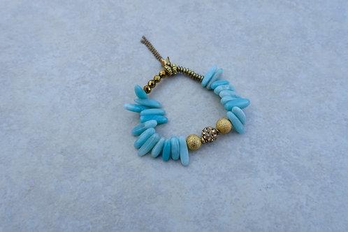 Wibble Wobble Amazonite Bracelet