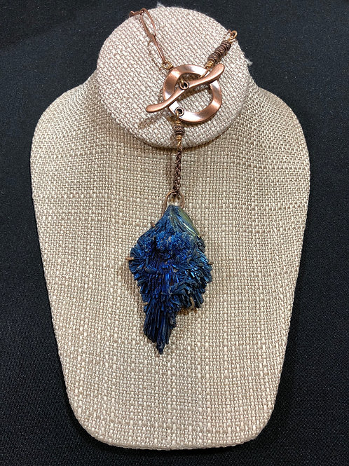 Blue Kyanite and Copper