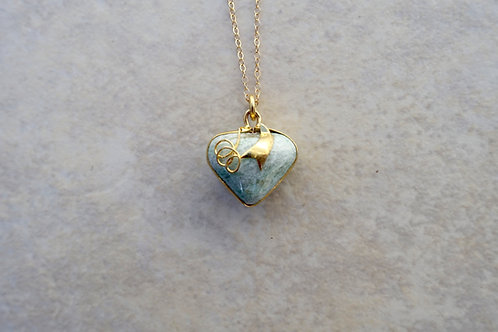 Jade Heart Necklace