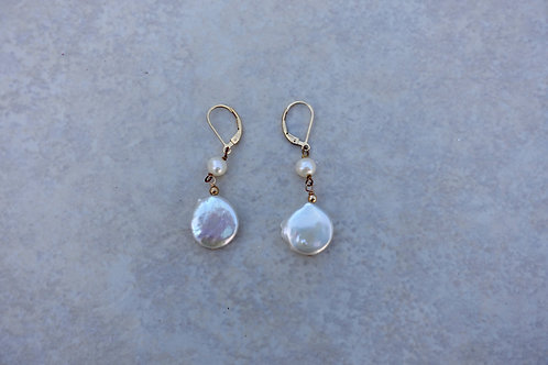 White Coin Pearls