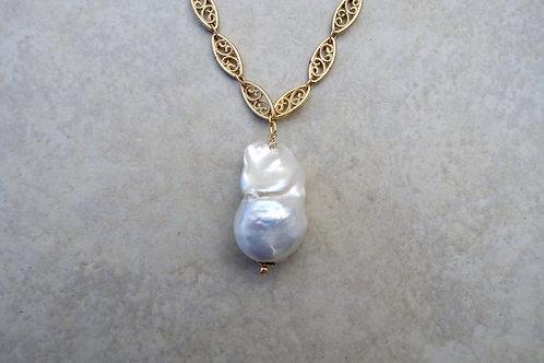 Large Baroque Single Pearl