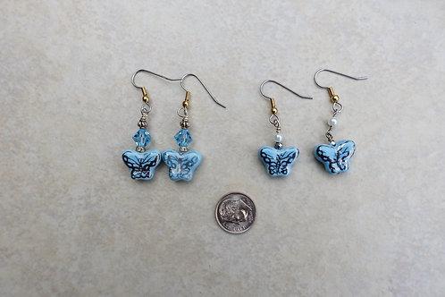 Baby Blue Butterflies