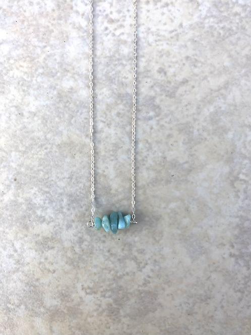 Larimar Tiny Necklace
