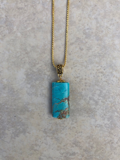 Magnesite Turquoise Pendant
