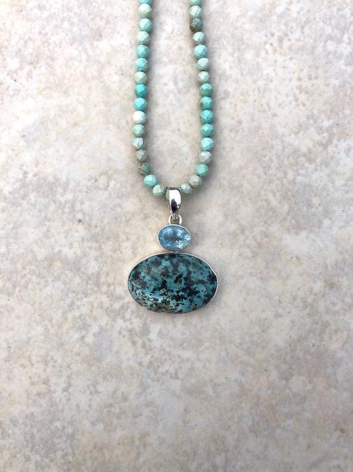 Turquoise and Aquamarine