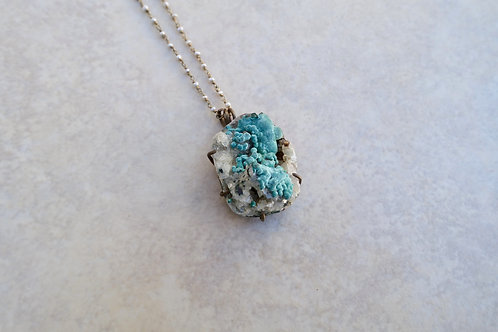 Rosasite with Pearls