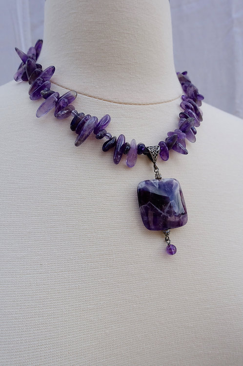 Cape Amethyst Necklace