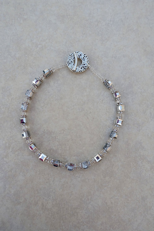 Square Silver Crystals