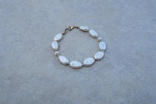 Oval Pearls Bracelet