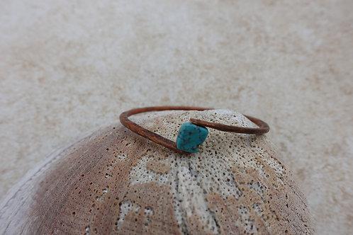 Turquoise Copper Bracelet