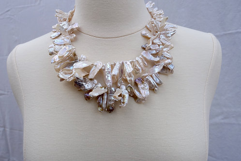 Petal Double Stranded Pearls