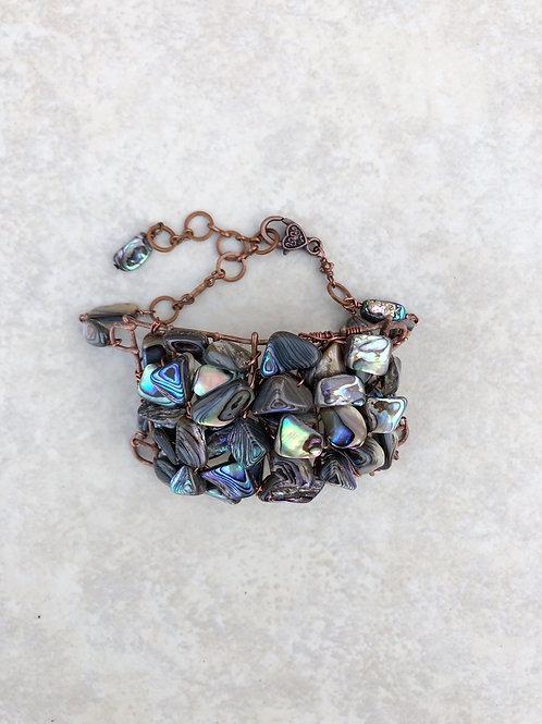 Woven Analone Cuff Bracelet