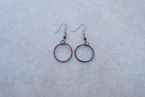 Bonze Hoops Large Earring