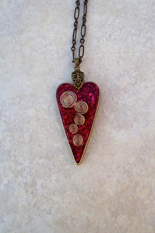 JudiKins CurliCue Bronze Heart