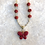Thumbnail: Red Magnesite Butterfly