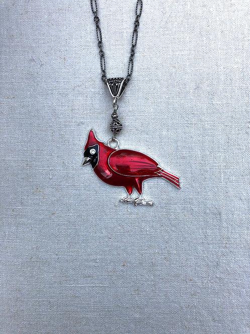 Red Cardinal Pendant