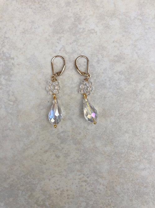 Crystal Dangly Earrings