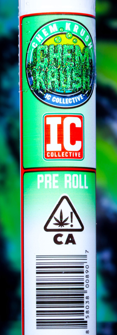 IC Collective Chem Krush Pre Roll