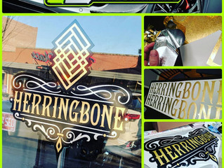 Some recent work for our friends at Herringbone in Downtown Overland Park