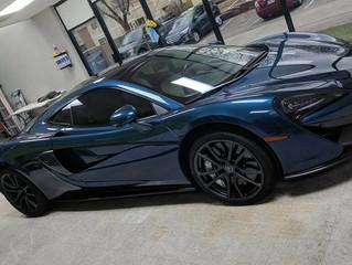 Today we tinted a McLaren 570GT!