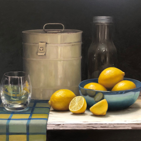 Traditional still life painting
