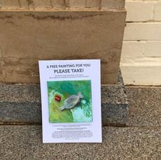 Plastic Catch No 18 in situ Castlemaine-