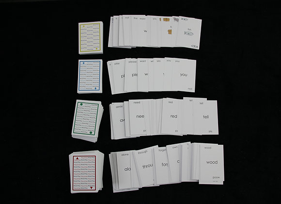 Word Play Cards: All Levels