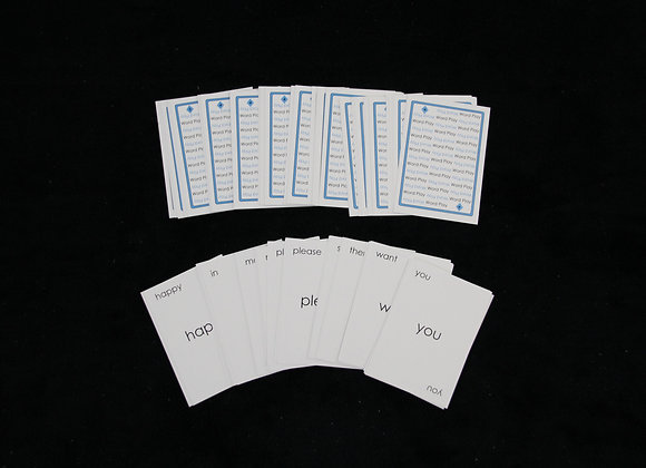Word Play Cards: Levels 4-5