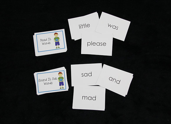 Target Word Flashcards: Levels 4-5