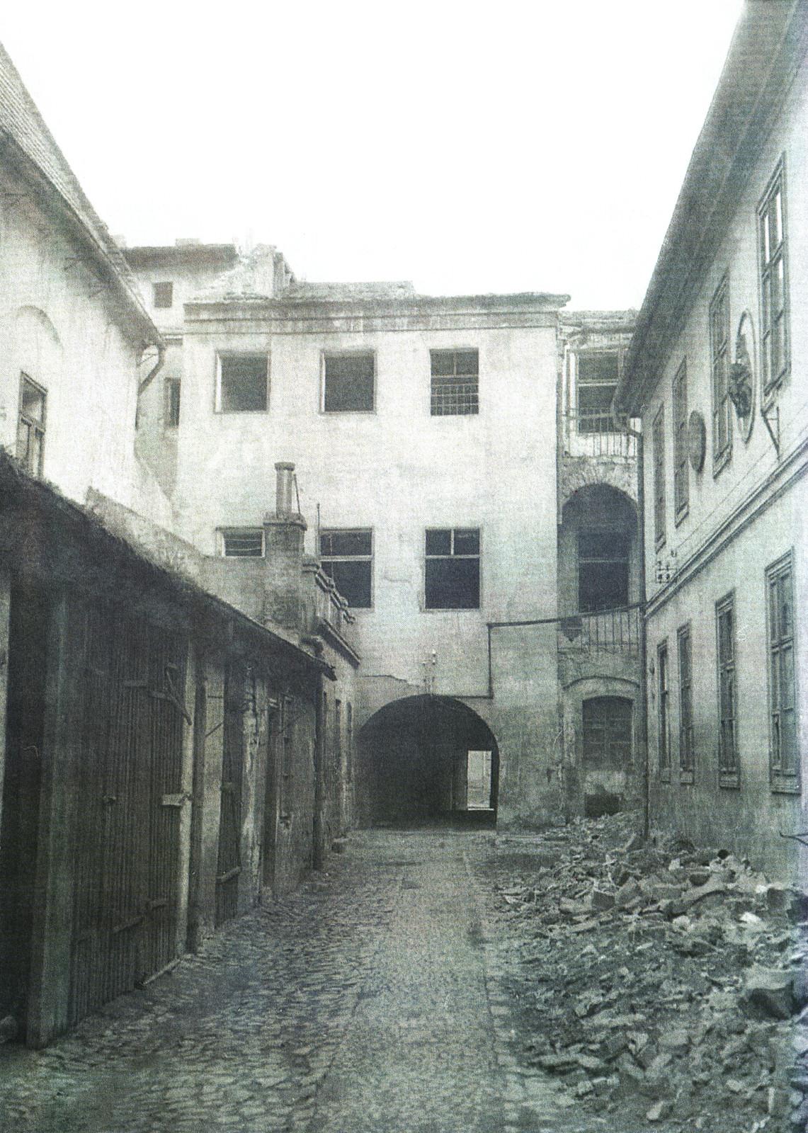 Jesuitenstrasse Hinterhof