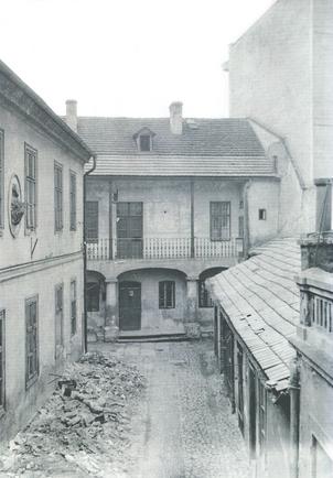 Jesuit Street, backyard