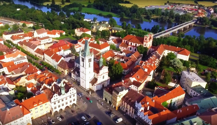 The historical center of Litoměřice