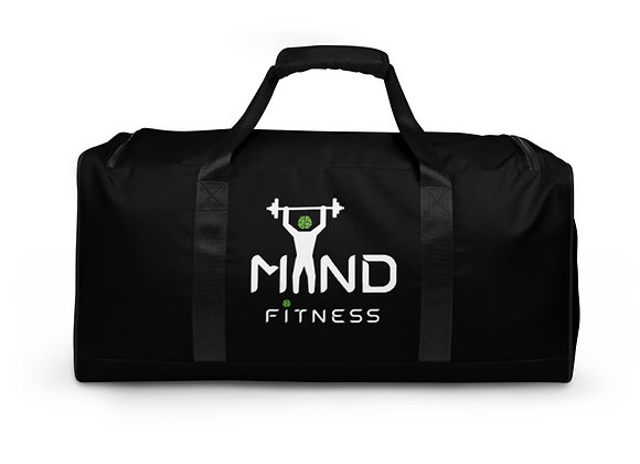 MiND FiTNESS black duffle bag