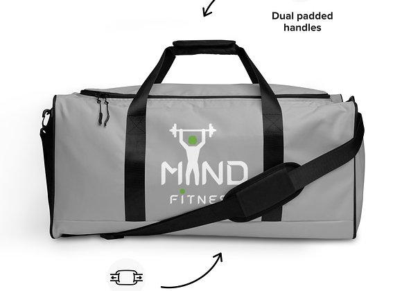 MiND FiTNESS Grey duffle bag