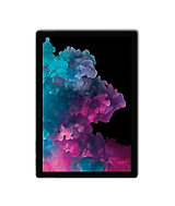micosoft surface pro with abstract wallpaper