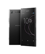 Sony Xperia XZ 1 back and front of the mobile phone