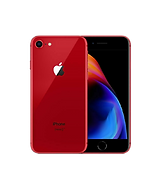 iPhone 8 in red back and front