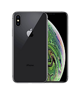 iphone xs max in charcoal back and front