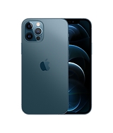 iPhone 12 Pro in Navy back and front