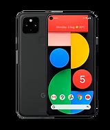 google pixel 5 smart phone in black